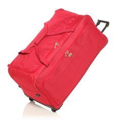 France Bag cestovní taška s koly 82 cm - červená