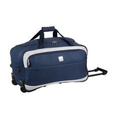 France Bag cestovní taška na kolečkách 56 cm modrobílá