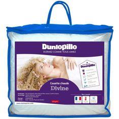 Dunlopillo teplá přikrývka, 200x200 cm, bílá