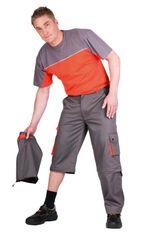 Desman Australian Line pánské tenké montérkové kalhoty Desman 2v1 62