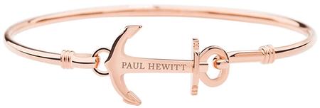 Paul Hewitt Zapestnica iz masivnega jekla s PH-BA-AR sidrom (Premer M - 6,1 cm)