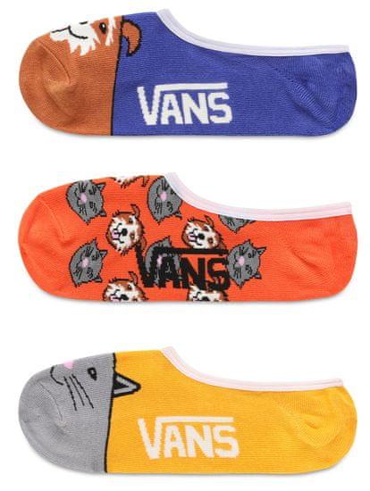 Vans trojité balení dámských vícebarevných ponožek WM 3PK Bud Cano Multi 37-41