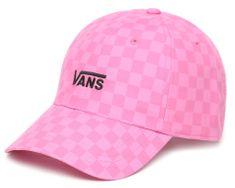 Vans Damska różowa czapka z daszkiem WM Court Side Printe Fuchsia Pink