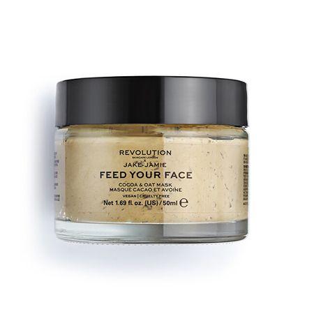 Revolution Skincare (Cocoa & Oat Moisturising Face Mask) 50 ml