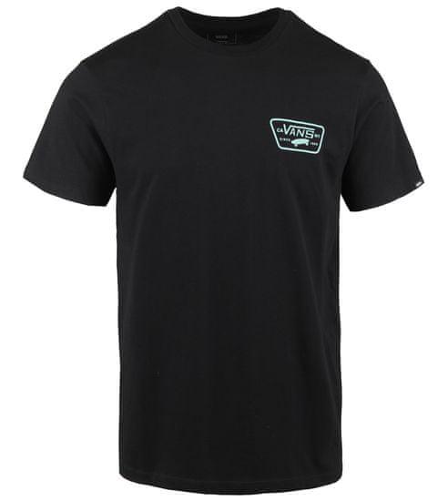Vans pánske tričko MN Full Patch Back Ss M čierna