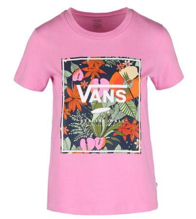 Vans ženska majica WM Boxlet, S, roza