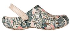 Coqui Dámské pantofle Tina Printed Beige Tropical 1353-204-6100