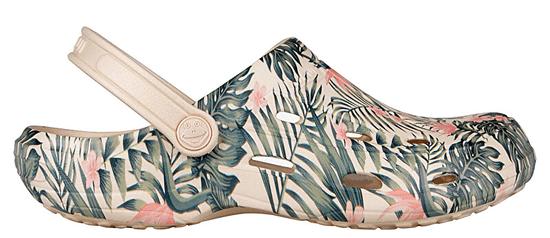 Coqui Dámske šľapky Tina Print ed Beige Tropic al 1353-204-6100 (Veľkosť 41)