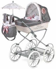 DeCuevas Reborn 2019-V zložljiv voziček za lutke, globok