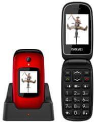 Evolveo EasyPhone FD, červený