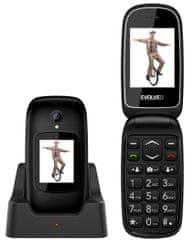 Evolveo EasyPhone FD, černý