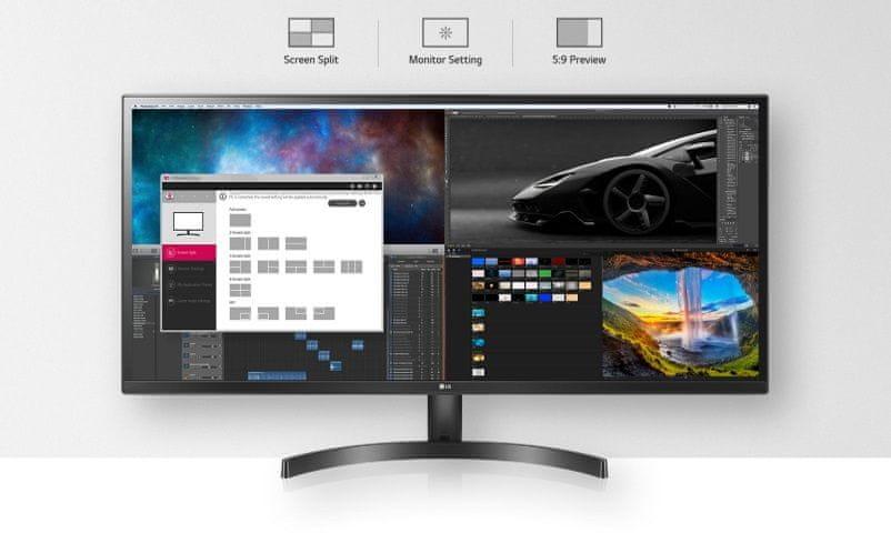 herní monitor LG 29WL50S (29WL50S-B.AEU) Dual Controller OnScreen control PBP