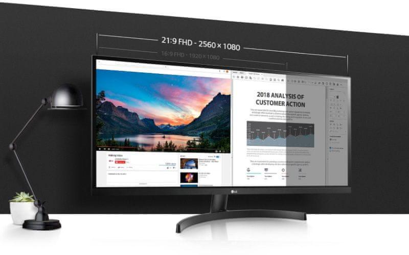 herní monitor LG 29WL50S (29WL50S-B.AEU) PbP 2560 × 1080 IPS
