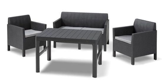 KETER ORLANDO + LYON stôl grafit