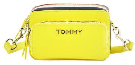 Tommy Hilfiger Női crossbody kézitáska Th Corporate Camera Bag Hyper Yellow