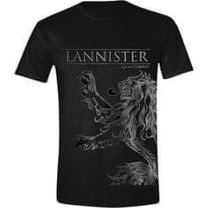 TIMECITY Tričko Game of Thrones - Lannister House Sigil (velikost L)