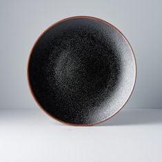 MIJ Okrúhly plytký tanier Tenmokku 29 cm