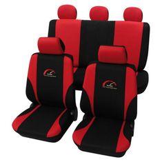 Cappa Autopoťahy TURBO čierna/červená