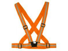 Cappa Racing Popruhy reflexní oranžové