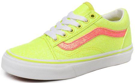 Vans gyerek sportcipő Old Skool (NEON GLITTER) 38 yellow