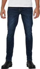 ONLY&SONS Męskie jeansy onsLOOM SLIM BLUE PK 5144 BlueDenim