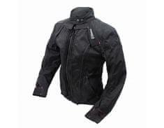Cappa Racing Bunda moto dámská STRADA textilní černá/růžová