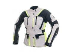 Cappa Racing Bunda moto dámská MELBOURNE textilní šedá/fluo/černá