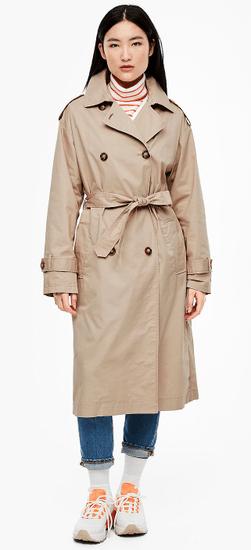 s.Oliver dámský kabát 05.002.52.4005 34 béžová