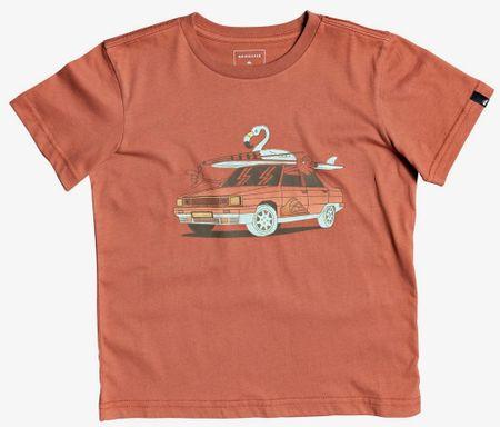Quiksilver fantovska majica Rdigtaltimssboy, 2Y, rdeča