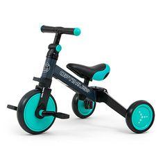 MILLY MALLY Dětská tříkolka 3v1 Milly Mally Optimus mint