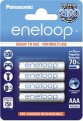 Panasonic Eneloop akumulator AAA 750mah blister 4 BK-4MCCE / 4BE