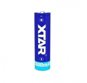 XTAR 18650 Bateria 18650 Li-ion 3,7 V 2600 mAh z obwodem ochronnym