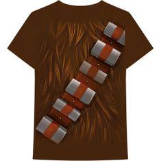 Rock Off Tričko Star Wars: Chewbacca Chest