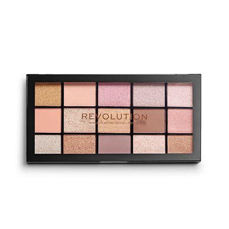Makeup Revolution újra betöltött alapvető szem árnyék paletta 15 x 1,1 g