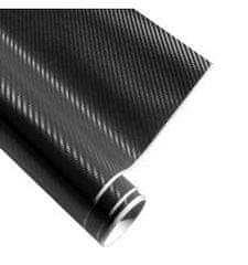 4Cars 4CARS Fólie 3D CARBON Černá 1.52x1m