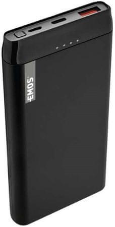 EMOS AlphaQ 10 punjiva baterija, 10.000 mAh 1613052400, crna