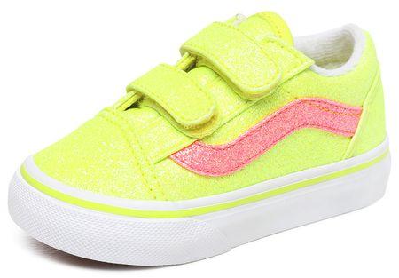 Vans gyerek sportcipő Old Skool V, 25, yellow