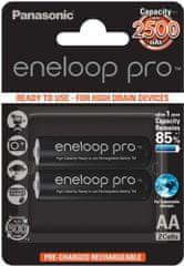 Panasonic BK-3HCDE / 2BE Eneloop Pro AA 2500mAh 2szt. 3HCDE / 2BE