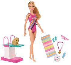 Mattel Barbie Plavkyňa