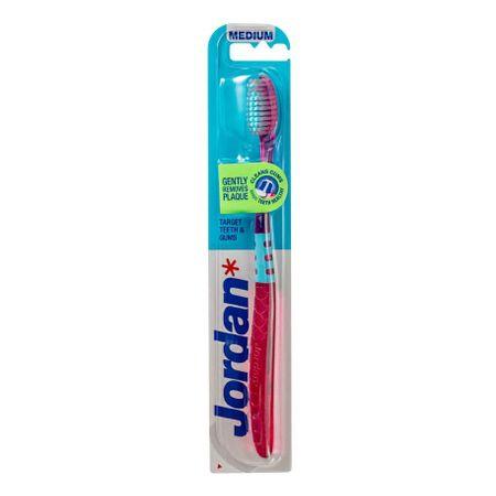 Jordan Target Zobna ščetka in dlesni, srednje velika