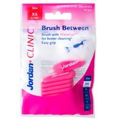 Jordan Clinic Brush Between Mezizubní kartáčky, XS-0.4 mm, 10 ks