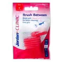 Jordan Clinic Brush Between Mezizubní kartáčky, S-0.5 mm, 10 ks