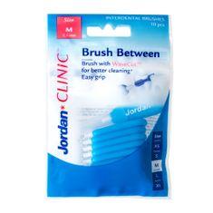 Jordan Clinic Brush Between Mezizubní kartáčky, M-0.6 mm, 10 ks