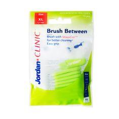 Jordan Clinic Brush Between Mezizubní kartáčky, XL-0.8 mm, 10 ks