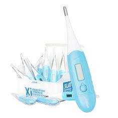 Novama WHITE XI Digitalni termometer z gibko konico in možnostjo merjenja ovulacije 12 kosov