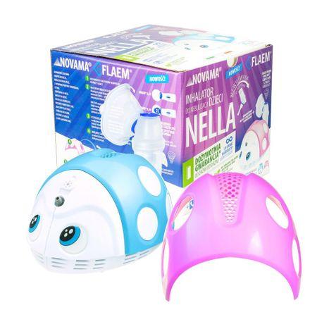 Novama Inhalator NELLA firmy FLAEM z nebulizatorem dla dzieci