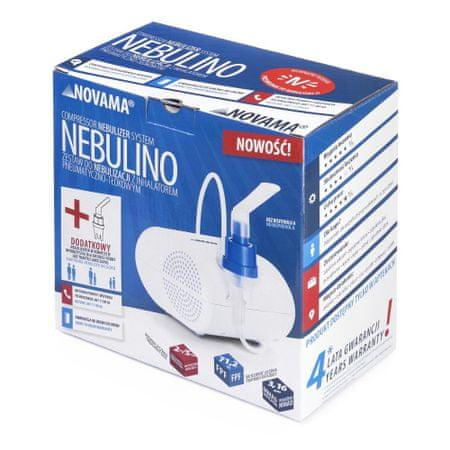 Novama NEBULINO Pneumatyczny inhalator tłokowy z nebulizatorem