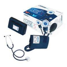Novama CLASSIC Manometrický - Hodinkový dvojhadičkový tlakomer so stetoskopom