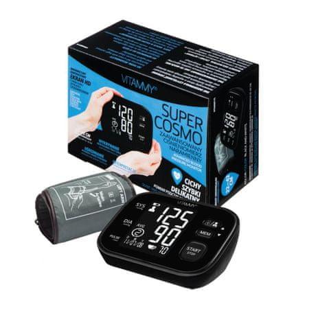 Vitammy SUPER COSMO vállmérő, fekete színű