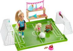 Mattel Zestaw Barbie Chelsea Fotbalistka